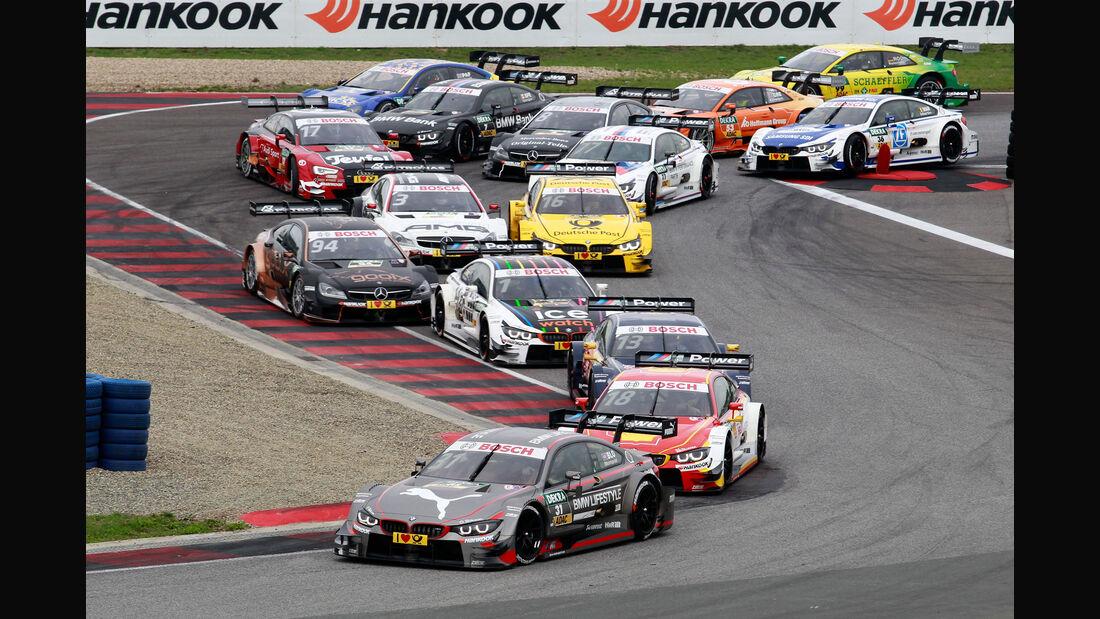 Start - DTM - Oschersleben - 2. Rennen - Sonntag - 13.9.2015