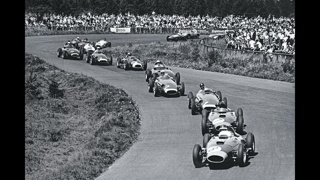 Start - F1 GP Deutschland 1957 - Nürburgring