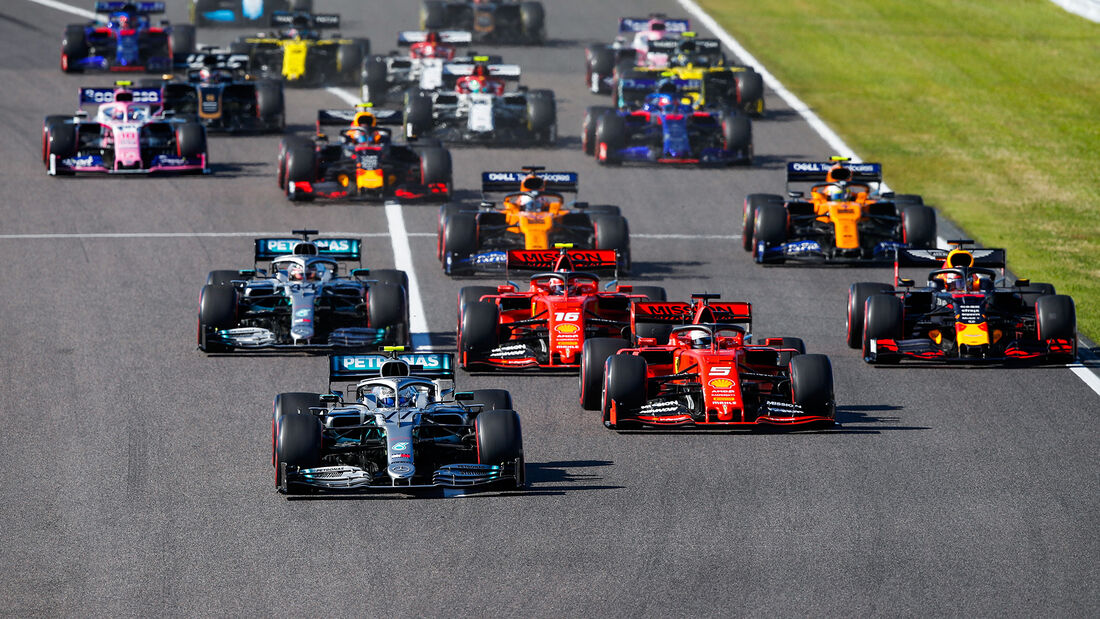 Start - Formel 1 - 2019