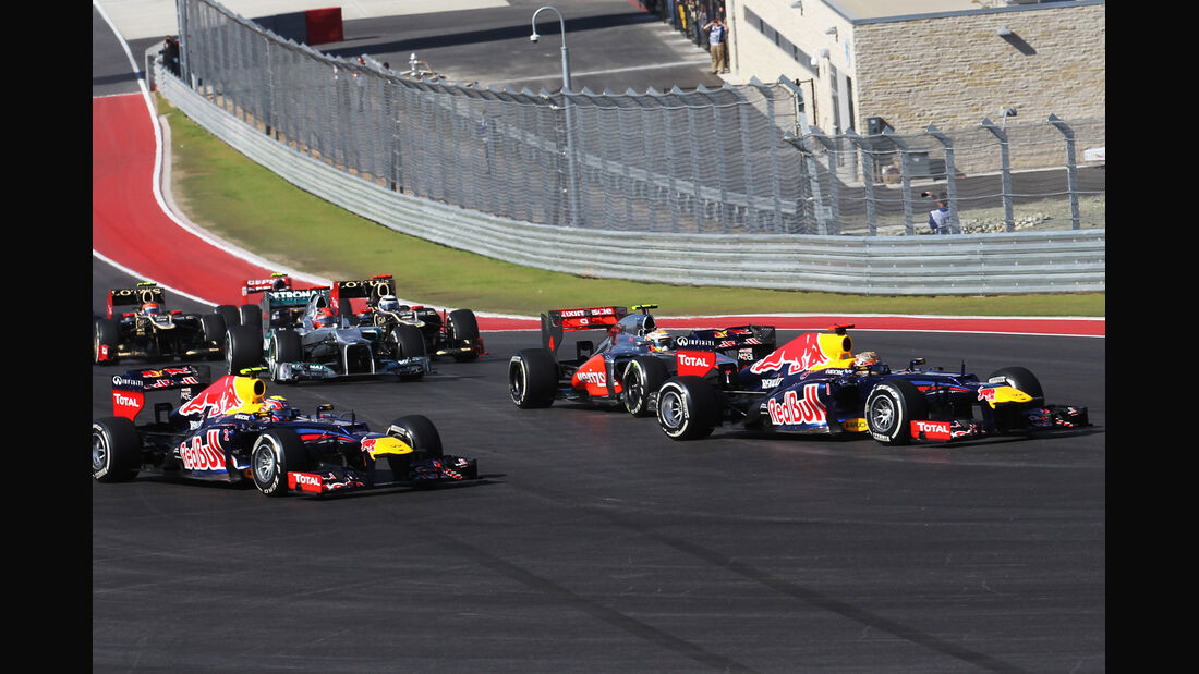 Start Formel 1 Austin GP USA 2012