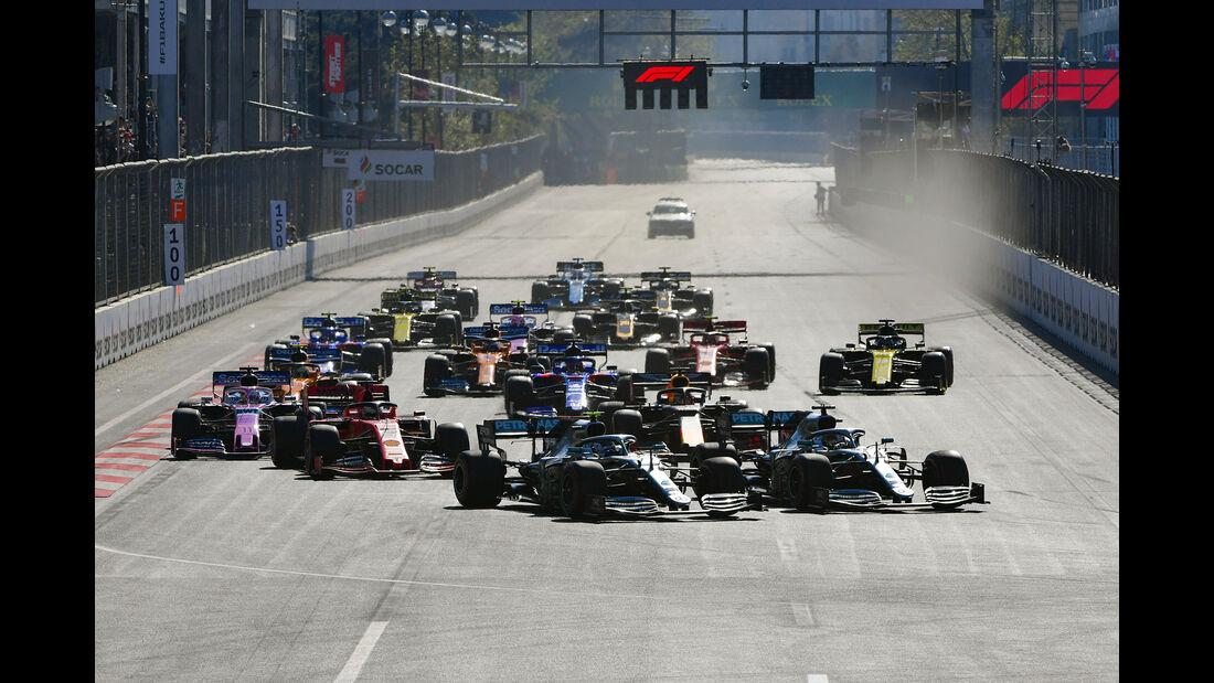 Start - Formel 1 - GP Aserbaidschan 2019