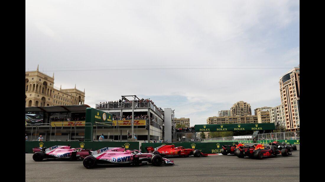 Start - Formel 1 - GP Aserbaidschan - 29. April 2018