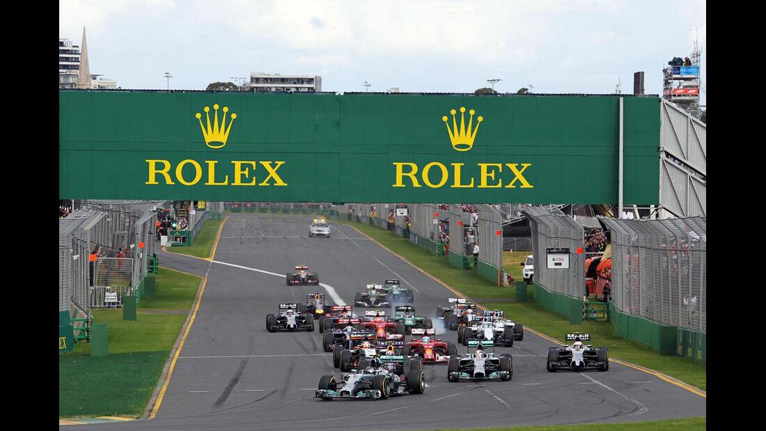 Start - Formel 1 - GP Australien - 16. März 2014
