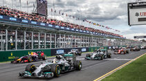 Start - Formel 1 - GP Australien 2014 - Danis Bilderkiste