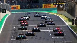 Start - Formel 1 - GP Brasilien 2014