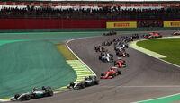 Start - Formel 1 - GP Brasilien 2015