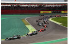 Start - Formel 1 - GP Brasilien 2015