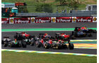Start - Formel 1 - GP Brasilien - 9. November 2014