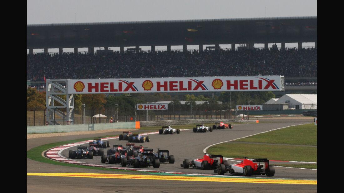 Start - Formel 1 - GP China 2015