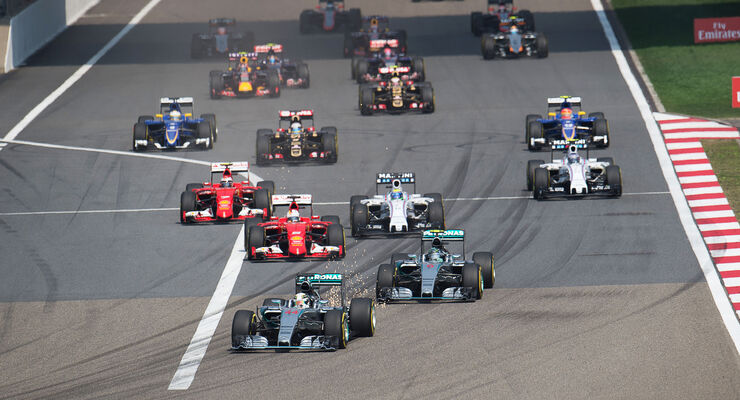 Formel 1 Start China