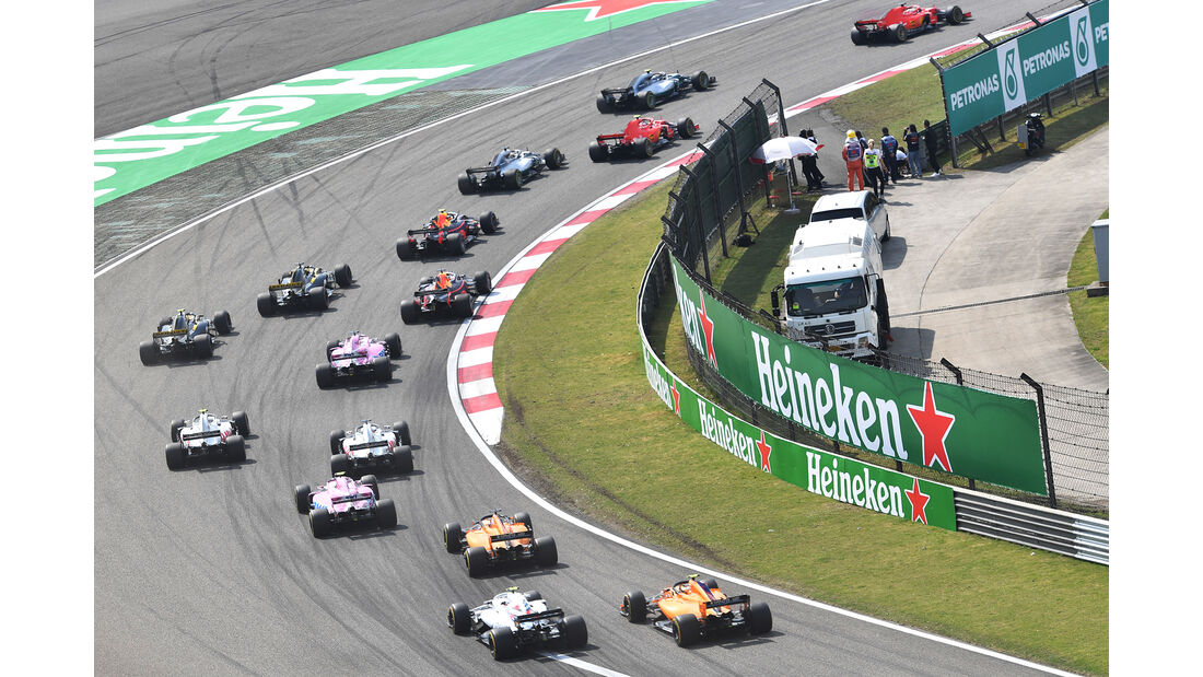 Start - Formel 1 - GP China 2018