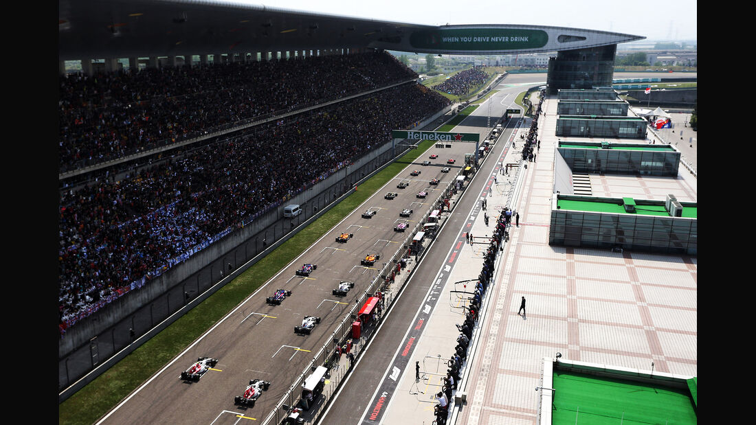 Start - Formel 1 - GP China 2018