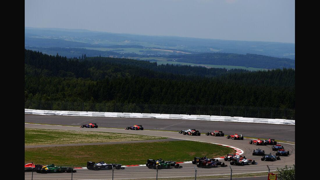 Start - Formel 1 - GP Deutschland 2013