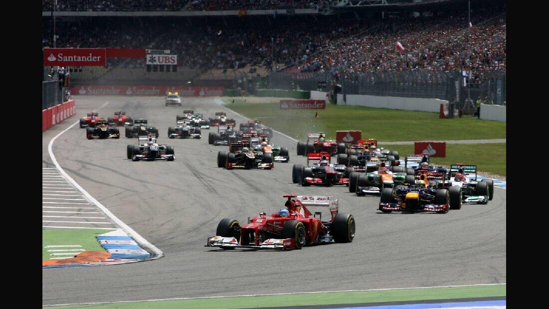 Start - Formel 1 - GP Deutschland - 22. Juli 2012