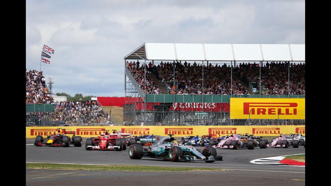 Start - Formel 1 - GP England - 16. Juli 2017
