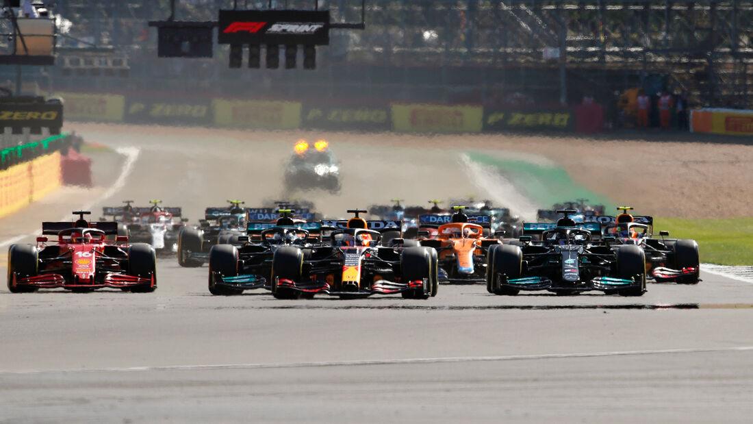 Start - Formel 1 - GP England - Silverstone - 17. Juli 2021