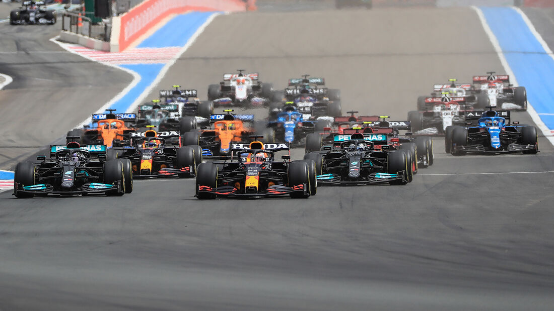 Start - Formel 1 - GP Frankreich 2021