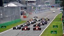 Start - Formel 1 - GP Italien - 02. September 2018