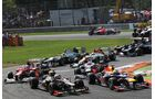 Start - Formel 1 - GP Italien - 09. September 2012