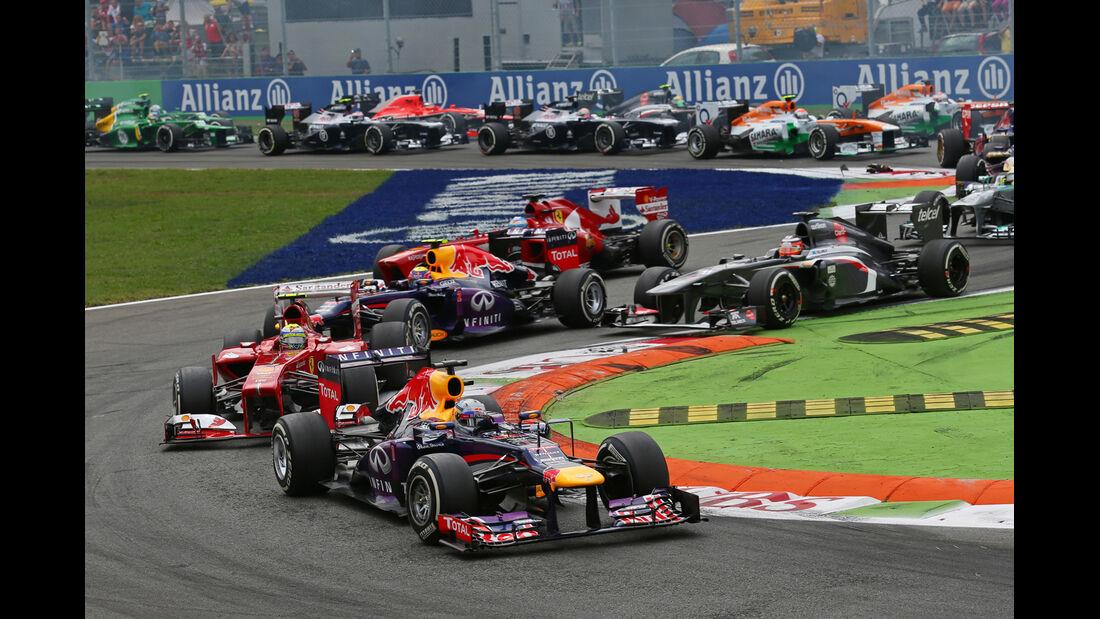 Start - Formel 1 - GP Italien 2013