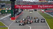 Start - Formel 1 - GP Japan 2016 - Suzuka