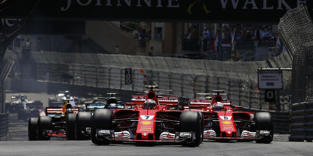 Start - Formel 1 - GP Monaco 2017