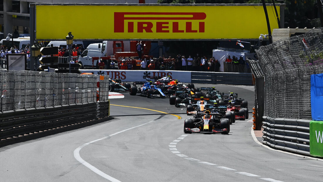Start - Formel 1 - GP Monaco - 23. Mai 2021