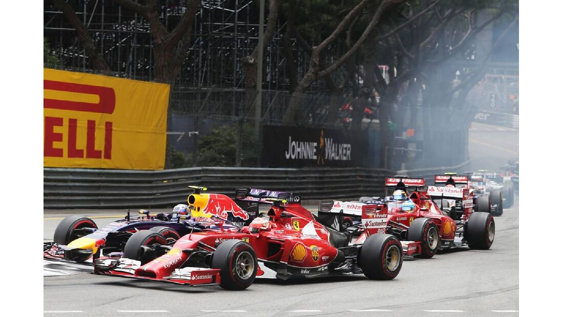Start  - Formel 1 - GP Monaco - 25. Mai 2014