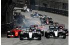 Start  - Formel 1 - GP Monaco - Sonntag - 24. Mai 2015