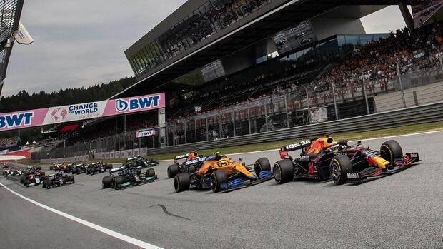 Start - Formel 1 - GP Österreich 2021
