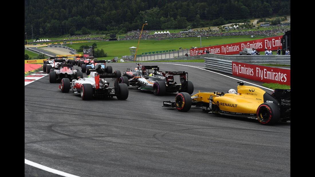Start - Formel 1 - GP Österreich - 3. Juli 2016