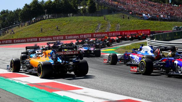 Start - Formel 1 - GP Österreich - Spielberg - 30. Juni 2019