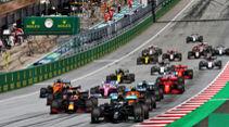 Start - Formel 1 - GP Österreich - Spielberg - 5. Juli 2020