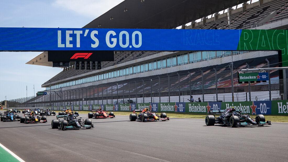 Start - Formel 1 - GP Portugal 2021