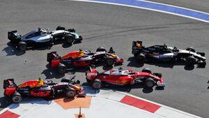 Start - Formel 1 - GP Russland - 1. Mai 2016
