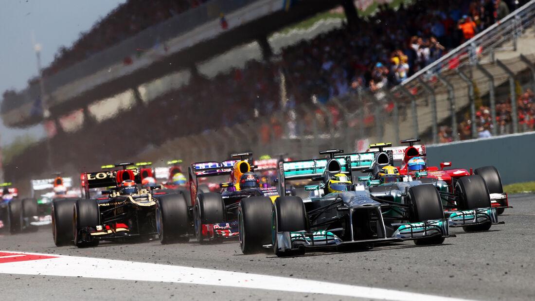 Start - Formel 1 - GP Spanien 2013