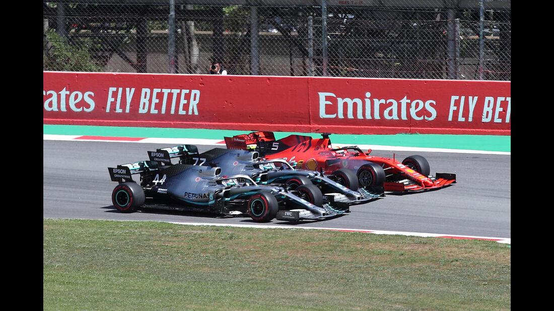 Start - Formel 1 - GP Spanien 2019