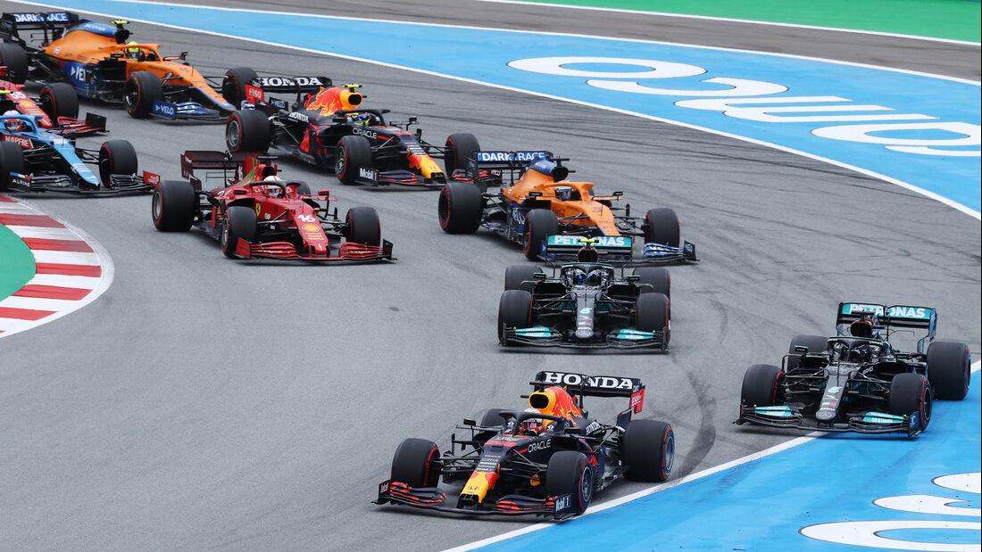 Start - Formel 1 - GP Spanien 2021 - Barcelona - Rennen