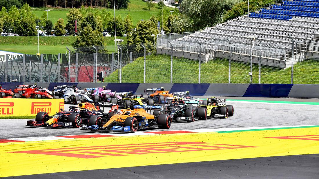 Start - Formel 1 - GP Steiermark 2020 - Spielberg - Rennen