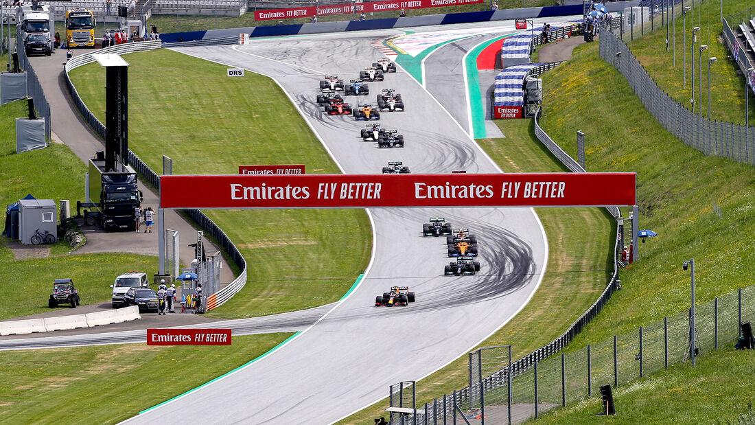 Start - Formel 1 - GP Steiermark - Spielberg - 27. Juni 2021
