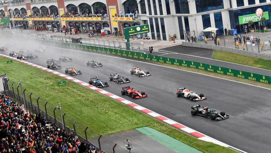 Start - Formel 1 - GP Türkei 2021