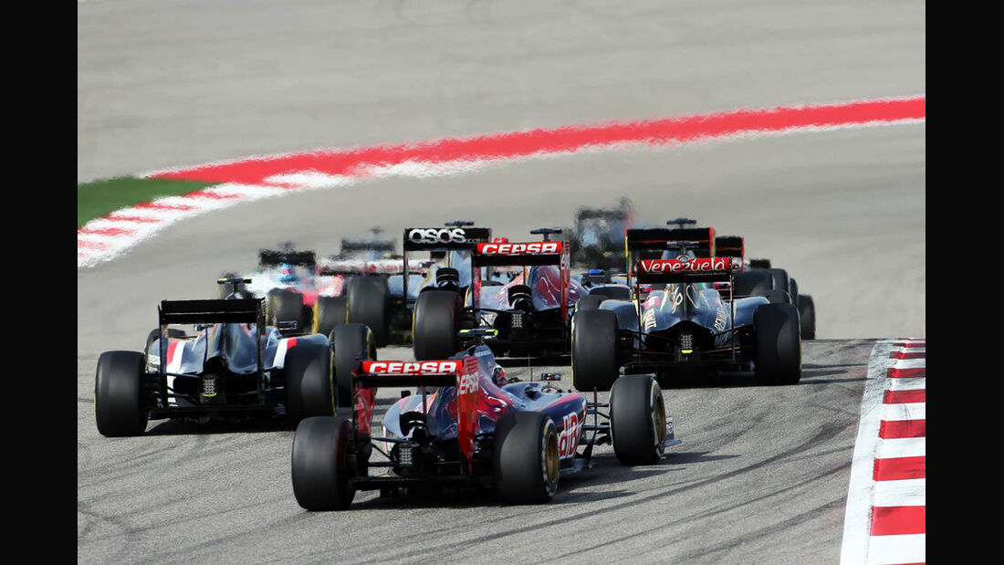 Start - Formel 1 - GP USA - 2. November 2014