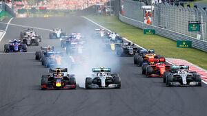 Start - Formel 1 - GP Ungarn 2019