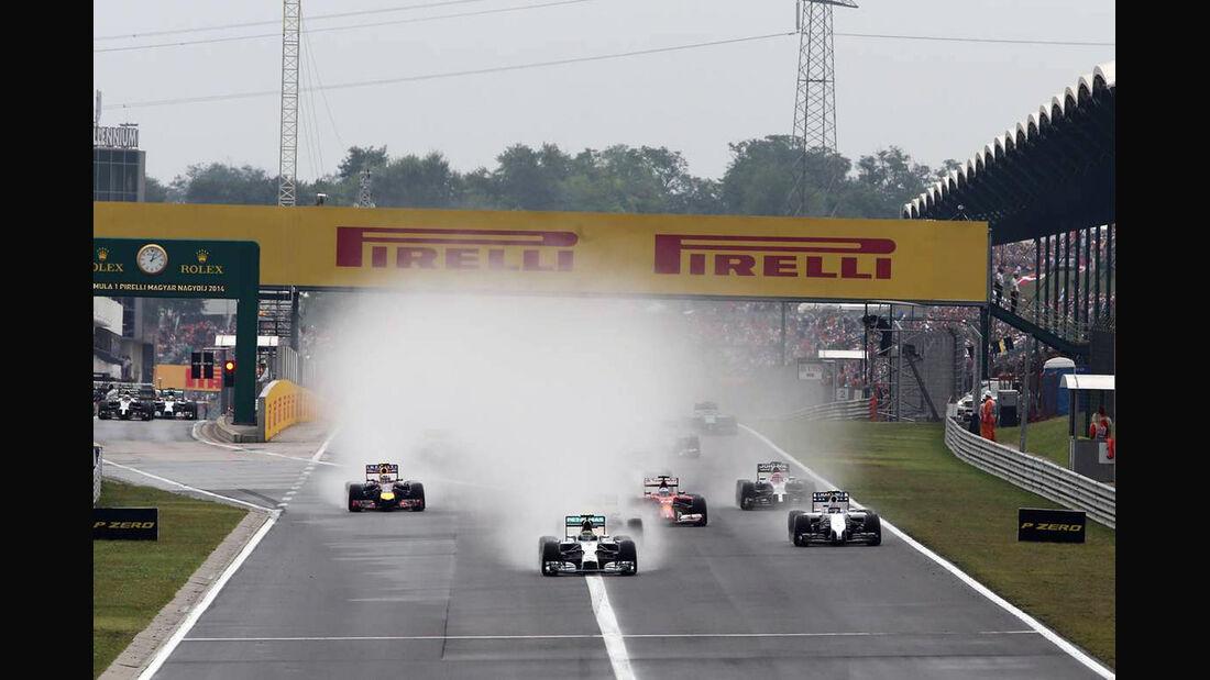 Start - Formel 1 - GP Ungarn - 27. Juli 2014