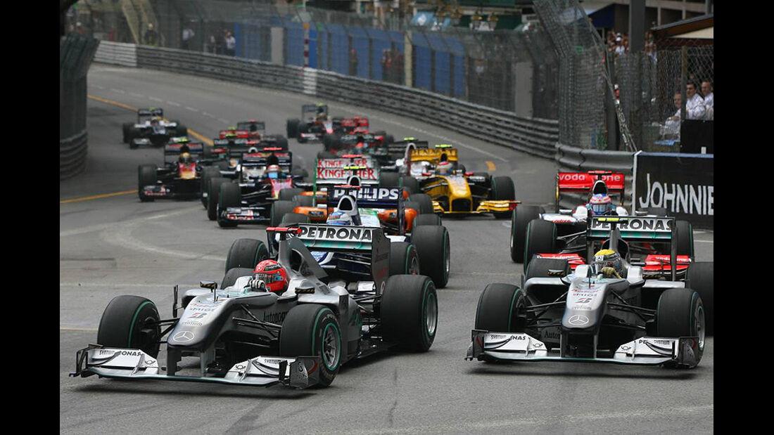 Start Formel 1 Monaco