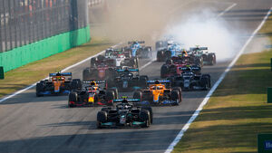 Start - Formel 1 - Monza - GP Italien - 11. September 2021