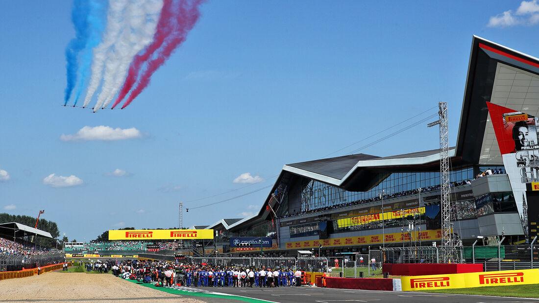 Start - Formel 1 - Silverstone - GP England 2021