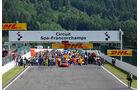 Start - Formel 3 EM 2014 - Spa-Francorchamps