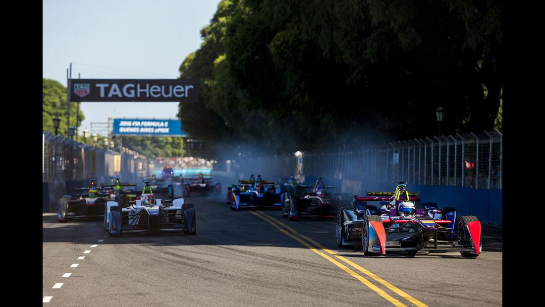 Start - Formel E - Argentinien - 2016
