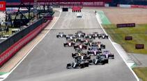 Start - GP 70 Jahre F1 - Silverstone
